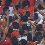 Galatasaray maçında büyük protesto!
