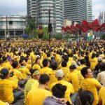Malezya'da yolsuzluk protestosu