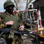 Kırım'da Rus askerleri kaçırıldı