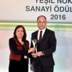 """Tofaş'a """"Yeşil Nokta Sanayi Ödülü"""""""