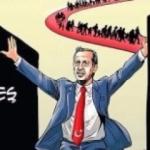 Sosyal medyayı sallayan Erdoğan karikatürü