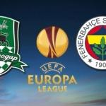 Fenerbahçe Krasnodar UEFA Avrupa Ligi maçı ne zaman?