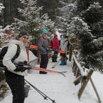 Bolu'da ücretsiz kayak eğitimleri başladı