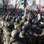 Kiev yine karıştı! 10 yaralı
