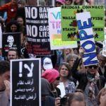 Trump 'Başkanlar Günü'nde protesto edildi