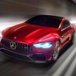 Mercedes'in AMG GT konseptini yakaladı