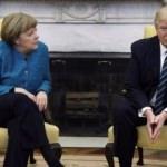 Trump, Merkel'in ardından Twitter'a koştu