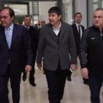 Demirören ve Terim, Antalyaspor tesislerini gezdi