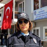 Yarım asırlık polis merkezinin ilk kadın amiri
