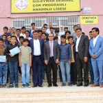 Harran'da başarılı öğrenciler ödüllendirildi