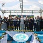 Turgutlu'da atık su arıtma tesisi törenle açıldı