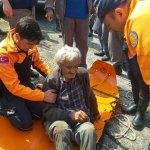 Yamaçtan yuvarlanan kişiyi AFAD ekipleri kurtardı