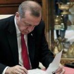 Erdoğan, yeniden yapılandırmayı onayladı!