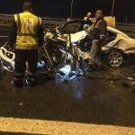 Aynı yerde iki kaza: 3 ölü, 1 yaralı