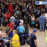 Londra havalimanında 3. kaos!