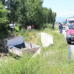 Çorum'da kamyonet devrildi: 2 ölü