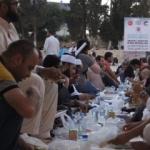 Kudüs'e kardeşlik sofrası kuruldu!