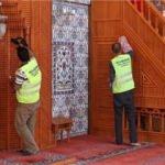 Buca Camilerinde bayram temizliği