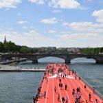 Paris'te olimpiyat oyunları etkinliği