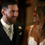Messi evlendi... İşte o düğünden kareler