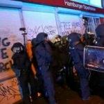 Hamburg'da çatışmalar şiddetleniyor