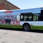 İETT otobüsleri dünya şampiyonlarıyla kaplandı