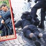 Almanlardan ikiyüzlü yaklaşım! Danke polizei