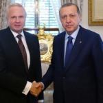 Cumhurbaşkanı Erdoğan, Dudley'i kabul etti