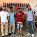 İzmir'deki Roman faytoncular belediyeden işlerini geri istiyor