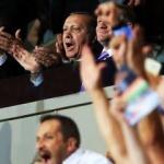 Cumhurbaşkanı Erdoğan büyük heyecan yaşadı!