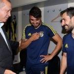 Erdoğan, Fenerbahçeli o futbolcuya böyle takıldı