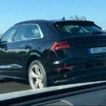 Kameraya yakalandı! İşte Audi Q8