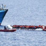 Libya açıklarında 135 Afrikalı göçmen kurtarıldı