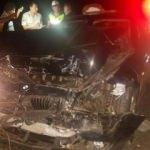 Otomobil, minibüse çarptı: 9 Yaralı