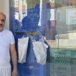 """Lüleburgaz'da """"askıda ekmek"""" uygulaması ilgi görüyor"""