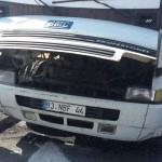 Konya'da seyir halindeki iki araçta yangın çıktı