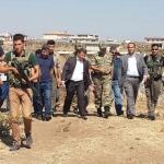 Viranşehir Kaymakamı Çimşit, Kaplan ailesini ziyaret etti