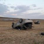 Ağrı'da otomobil devrildi: 1 ölü, 2 yaralı
