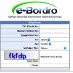 e-Bordro nasıl alınır? e-Bordro maaş sorgulama ekranı...