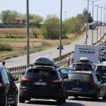 Avrupa'ya açılan kapılarda dönüş trafiği sürüyor