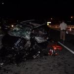 Trafik kazasında anne ve kızı öldü