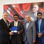 Bangladeş'in Ankara Büyükelçisi Siddiki, Isparta'da