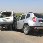 Şanlıurfa'da trafik kazası: 2 ölü, 8 yaralı