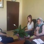 AK Partili kadınların TÜGVA ziyareti