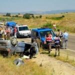 Düğün konvoyunda korkunç kaza: 1 ölü, 5 yaralı