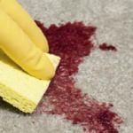 Kan lekesi nasıl temizlenir?