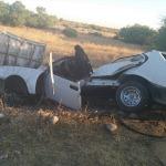 Adıyaman'da trafik kazası: 1 ölü, 2 ağır yaralı