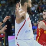 İspanya Karadağ'a 39 sayı fark attı
