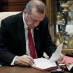 Erdoğan'dan rektör ataması
