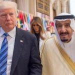 Trump, Suudi Arabistan Kralı Selman ile görüştü!